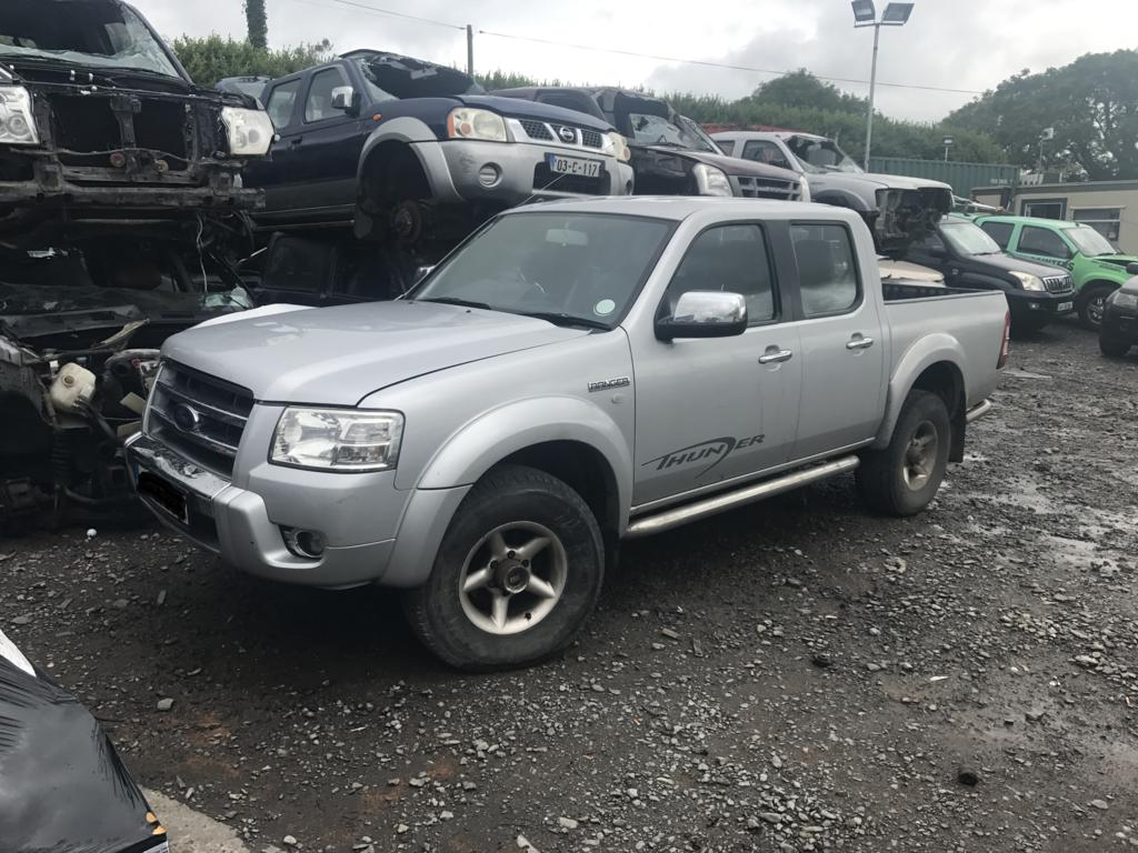ford ranger crew cab silver