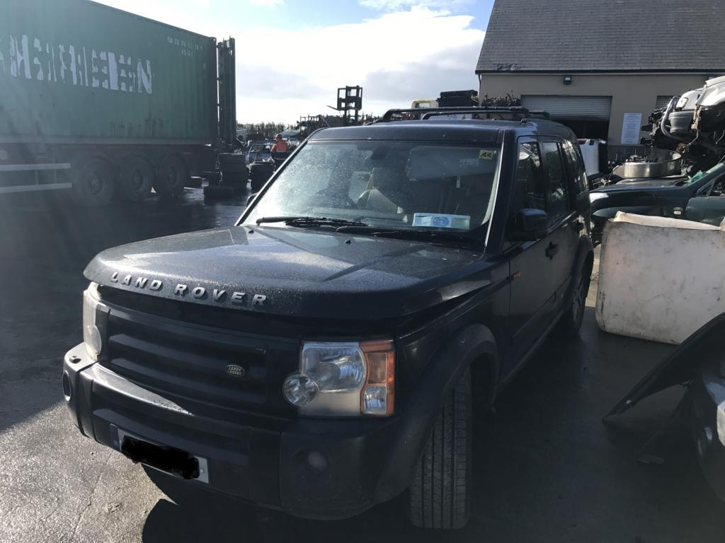 Landrover discovery 3 black 2