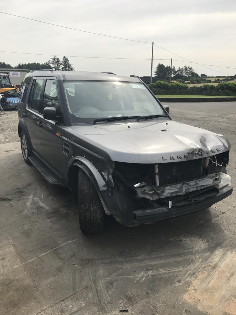 Landrover discovery 3 grey 2