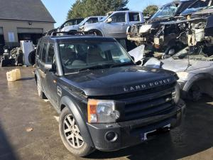 Landrover discovery 3 black 1