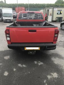 isuzu d-max king cab red 4