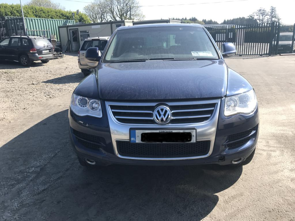 vw Tourag Blue 1