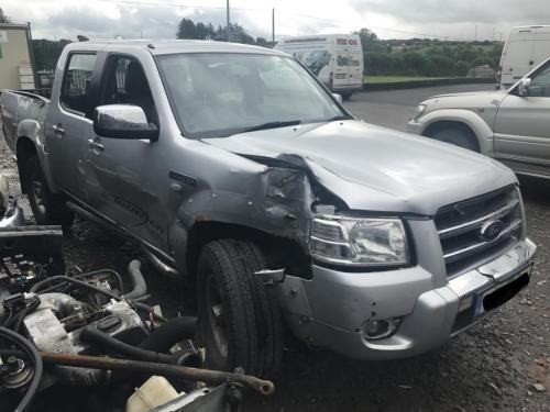ford ranger crew cab silver 2